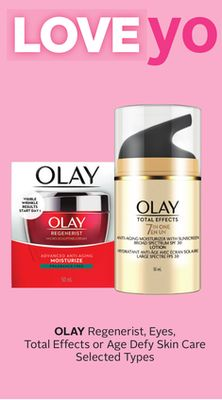 Olay Regenerist - Eyes - Total Effects Or Age Defy Skin Care