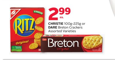 Christie 100g-225g Or Dare Breton Crackers