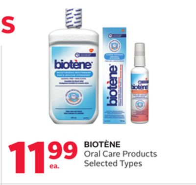 Biotène Oral Care Products