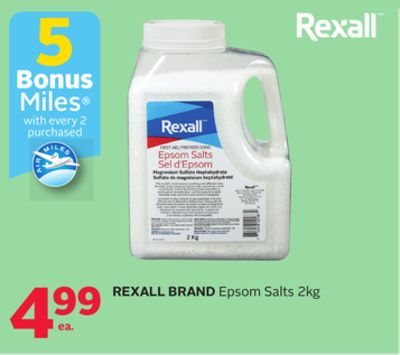 Rexall Brand Epsom Salts - Bonus Air Miles Reward Miles