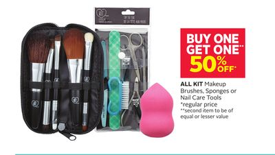 All Kit Makeup Brushes - Sponges or Nail Care Tools
