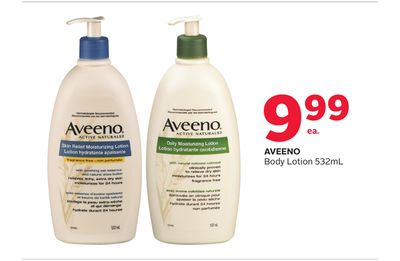 Aveeno Body Lotion