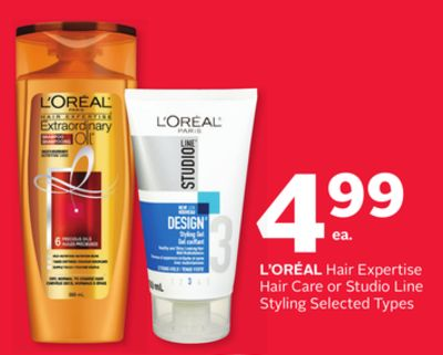 L'oreal Hair Expertise Hair Care or Studio Line