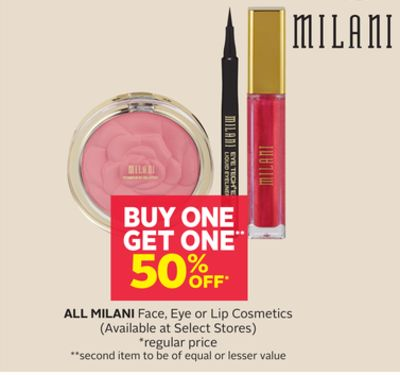 Milani Face - Eye or Lip Cosmetics