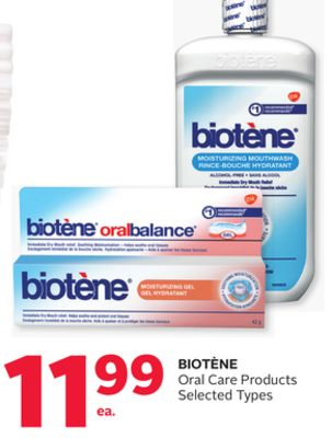 Biotene Oral Care Products