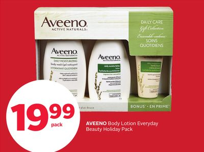 Aveeno Body Lotion Everyday