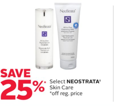 Select Neostrata Skin Care