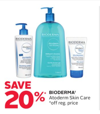 Bioderma Atoderm Skin Care