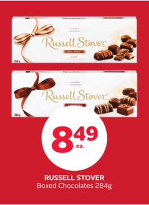 Russell Stover Boxed Chocolates