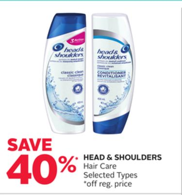 Head & Shoulders Hair Care