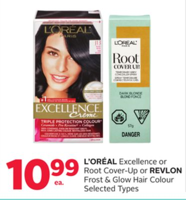 L'oréal Excellence Or Root Cover-up Or Revlon Frost & Glow Hair Colour
