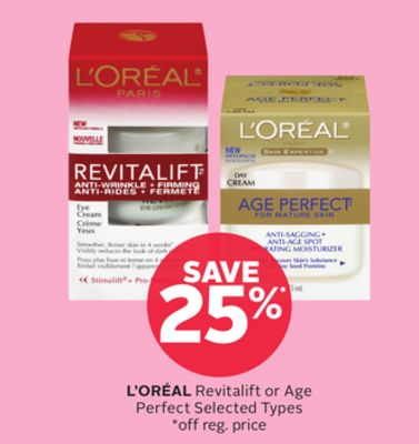 L'oréal Revitalift or Age Perfect