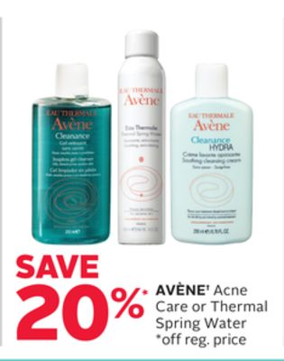 Avène Acne Care or Thermal Spring Water