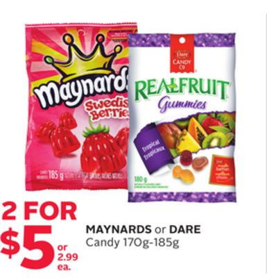 Maynards Or Dare Candy
