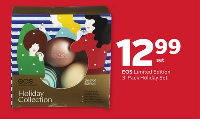 Eos Limited Edition 3-pack Holiday Set