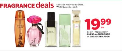 Select Fragrances By Guess - Alfred Sung Or Elizabeth Arden