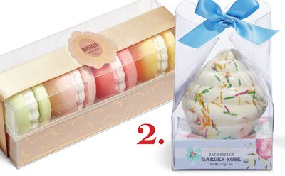 Pure Passion Macaroon Bath Fizzies or Pure Passion Cupcake Bath Fizzie