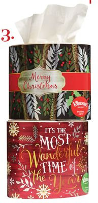 Kleenex Holiday Facial Tissue Oval