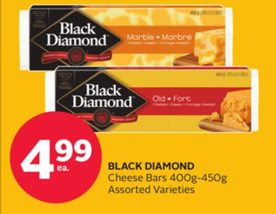 Black Diamond Cheese Bars 400g-450g