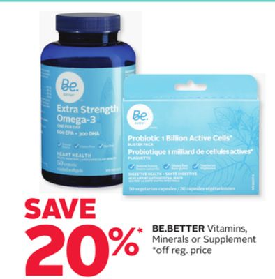 Be.better Vitamins - Minerals or Supplement