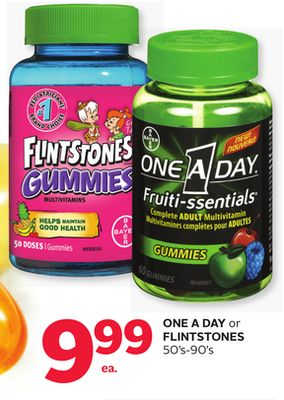 One A Day or Flintstones