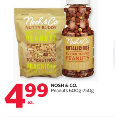 Nosh & Co. Peanuts