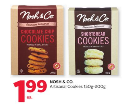 Nosh & Co. Artisanal Cookies 150g-200g