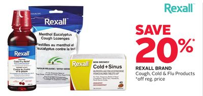 Rexall Brand Cough - Cold & Flu Products