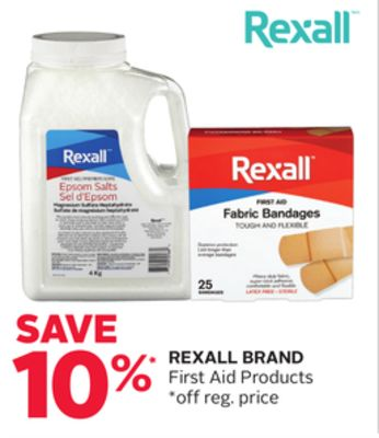 Rexall Brand First Aid Products