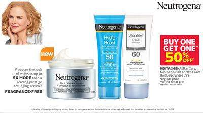 Neutrogena Skin Care - Sun - Acne - Hair or Men's Care
