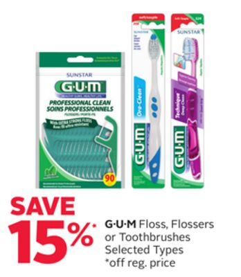 G·u·m Floss - Flossers or Toothbrushes