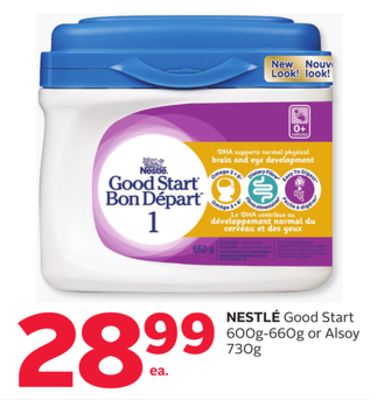 Nestlé Good Start 600g-660g or Alsoy 730g