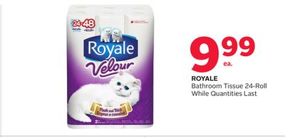 Royale Bathroom Tissue 24-roll
