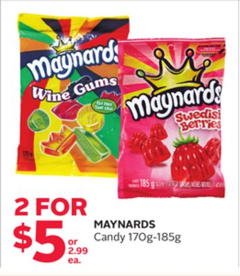 Maynards Candy 170g-185g