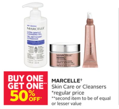 Marcelle Skin Care or Cleansers