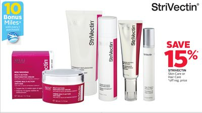 Strivectin Skin Care or Hair Care - 10 Bonus Air Miles Reward Miles