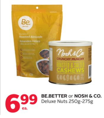 Be.better or Nosh & Co. Deluxe Nuts