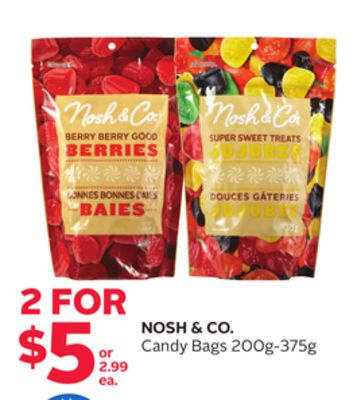 Nosh & Co. Candy Bags