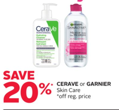 Cerave or Garnier Skin Care