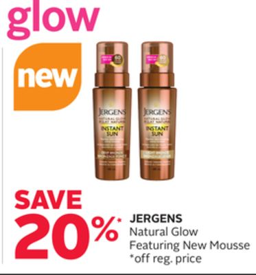 Jergens Natural Glow Featuring New Mousse