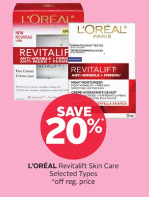 L'oréal Revitalift Skin Care