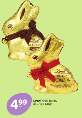 Lindt Gold Bunny or Chick