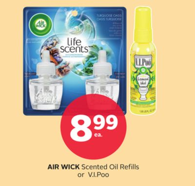 Air Wick Scented Oil Refills or V.i.poo
