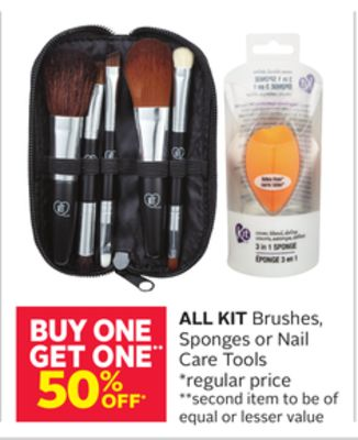 All Kit Brushes - Sponges or Nail Care Tools