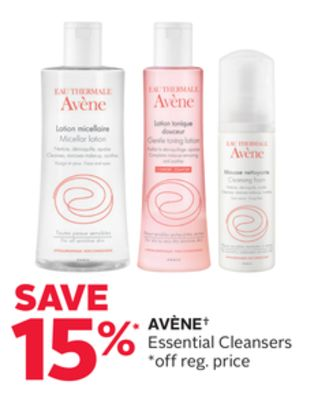 Avène Essential Cleansers