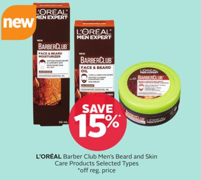 L'oréal Barber Club Men's Beard and Skin Care Products