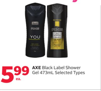 Axe Black Label Shower Gel