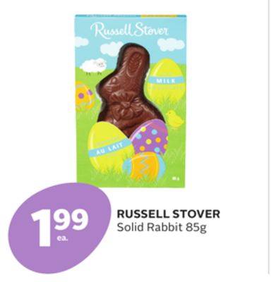 Russell Stover Solid Rabbit