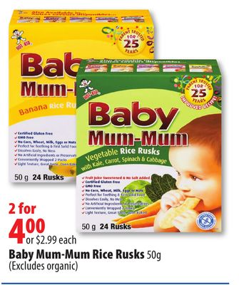 how to make rice rusks for baby