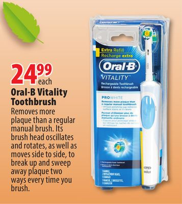 Redflagdeals oral b toothbrush